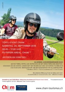 Töffli-Event Cham «Entdeckung Ennetsee» @ Parkplatz P3 | Cham | Zug | Schweiz